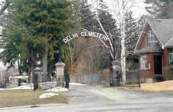 Delhi Cemetery