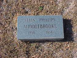 Ellen C <i>Phillips</i> Middlebrooks