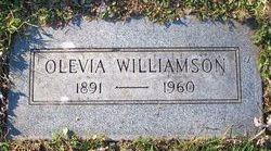 Olevia Elizabeth <i>Aplin</i> Williamson
