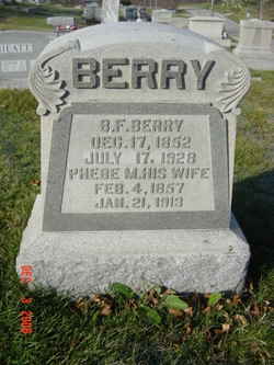 Phebe Matilda <i>Galbraith</i> Berry