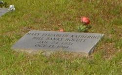 Mary Elizabeth Katherine <i>Hill</i> Banks Hocutt