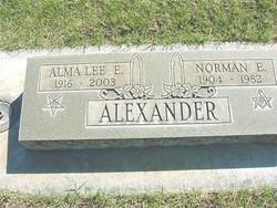 Alma Lee Etta <i>Cockerum</i> Alexander