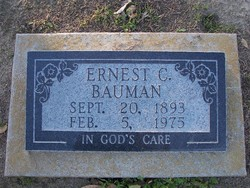 Ernest C. Bauman