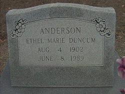 Ethel Marie <i>Duncum</i> Anderson