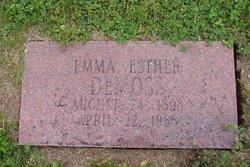 Emma Esther DeMoss