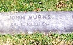 Pvt John Burns