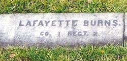 Pvt Lafayette Burns