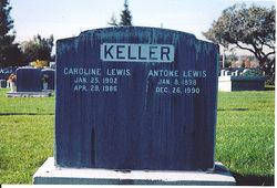 Caroline Margaret <i>Keller</i> Lewis