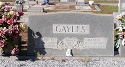 Maxine <i>Andrews</i> Gayles