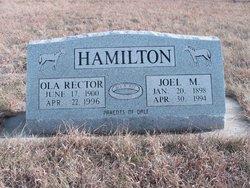 Ola <i>Rector</i> Hamilton