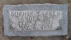 Sophia <i>Larsen</i> Andersen