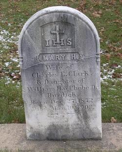 Mary H. <i>Burdick</i> Clark