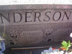 Viola Elizabeth <i>Holder</i> Anderson