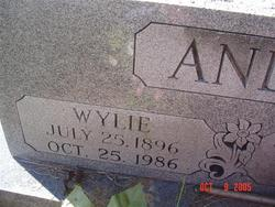 Wylie James Anderson