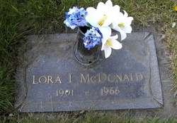 Lora I McDonald