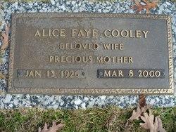 Alice Faye <i>Tribble</i> Cooley