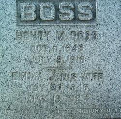 Emma J <i>Stone</i> Boss