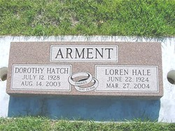 Dorothy <i>Hatch</i> Arment