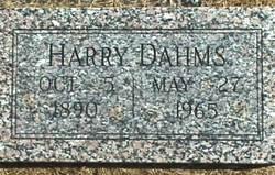 Harry I Dahms
