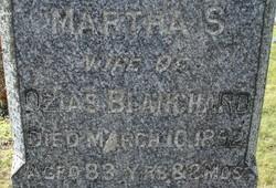 Martha S. <i>Sweetser</i> Blanchard
