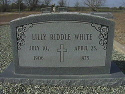 Lilly <i>Riddle</i> White