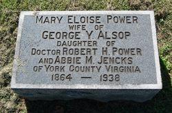 Mary Eloise <i>Power</i> Alsop