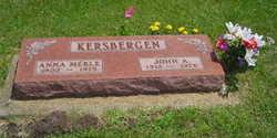 Anna Merle <i>Lanphier</i> Kersbergen
