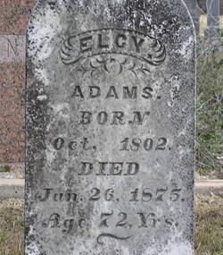 Elsie Allen Elcy Adams