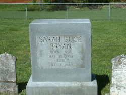 Sarah <i>Bucy</i> Bryan