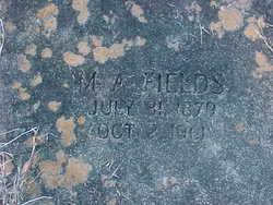 Mizell A. Fields
