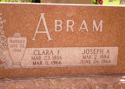 Clara Florence <i>Shadowen</i> Abram