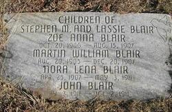 Nora Lena Blair