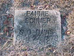 Frances F. Fannie <i>Bonner</i> Davis