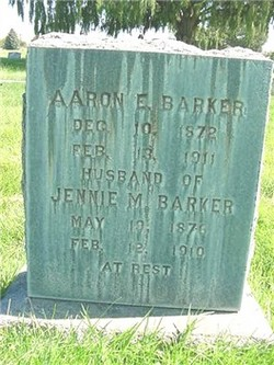 Aaron Edward Barker