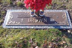 Clifford A Brown