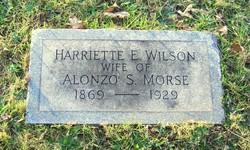 Harriette E <i>Wilson</i> Morse