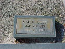 Maude Cobb Bullington