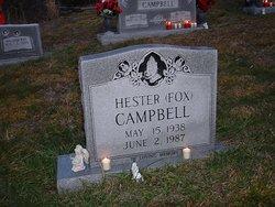 Hester (fox) Campbell