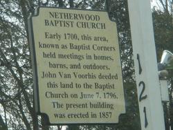 Netherwood Baptist Church Cemetery