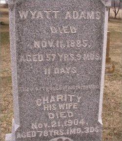 Charity <i>Bishop</i> Adams