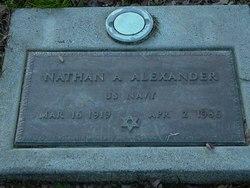 Nathan A Alexander