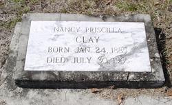 Nancy Priscilla Clay