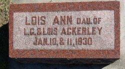 Lois Ann Ackerley