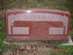 Lida May <i>Peters</i> Overman