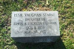 Issie <i>Vaughan</i> Starke