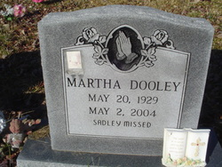 Martha <i>Miller</i> Dooley