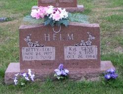 Betty Lou <i>Grove</i> Helm