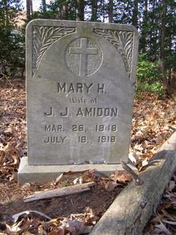 Mary H. Mollie <i>Lunsford</i> Amidon