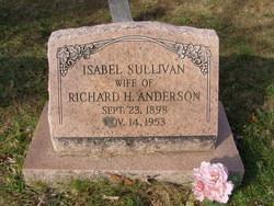 Isabel Sullivan Anderson
