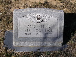 Annie Mae Allen